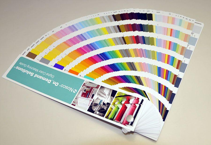 نقش رنگ در صنعت چاپ