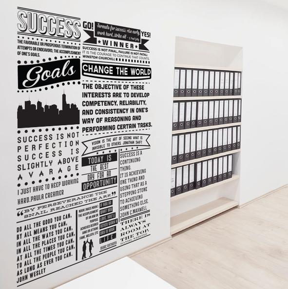 چاپ استیکر دیواری و انواع آن