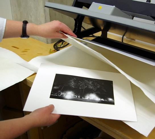 چاپ پلات و لمینت