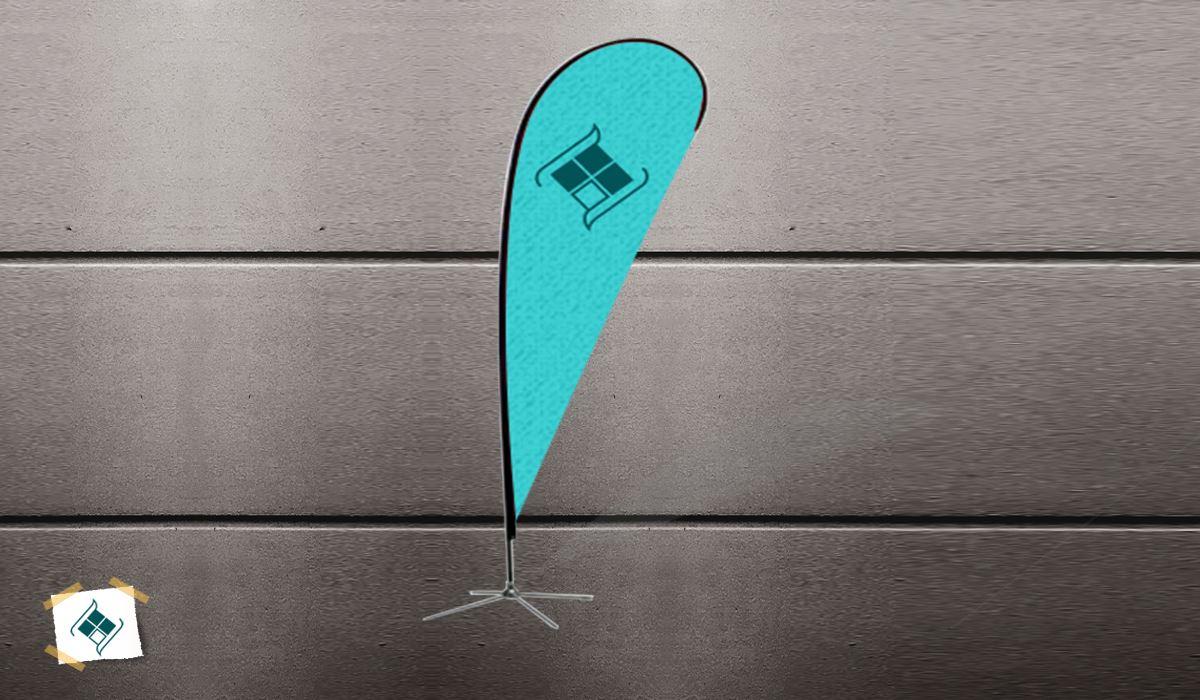 پرچم ساحلی مدل قطره ای