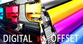 تفاوت بین چاپ دیجیتال و افست
