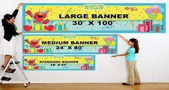 سایزهای استاندارد بنر چاپی