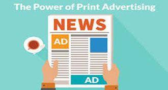 درک روشنی از رابطه بین حوزه چاپ و تبلیغات