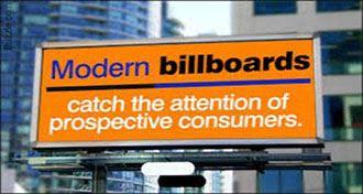بیلبورد تبلیغاتی و اجزای آن
