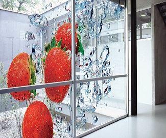 ویژگی های چاپ استیکر روی شیشه