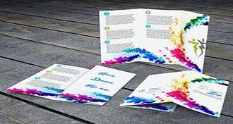 انواع چاپ بروشور